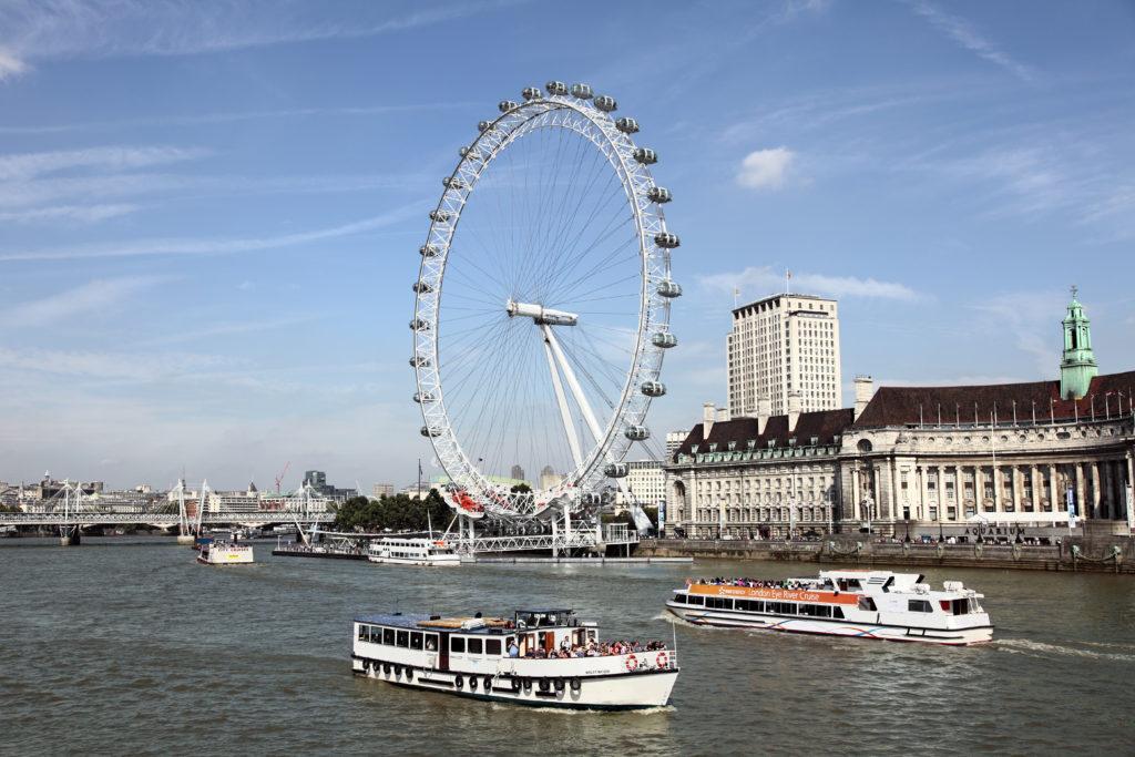 London Eye Rob Land Reizen 2021