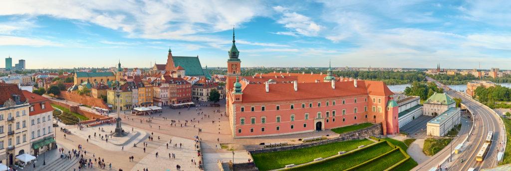 welkom in Warschau Rob Land Reizen