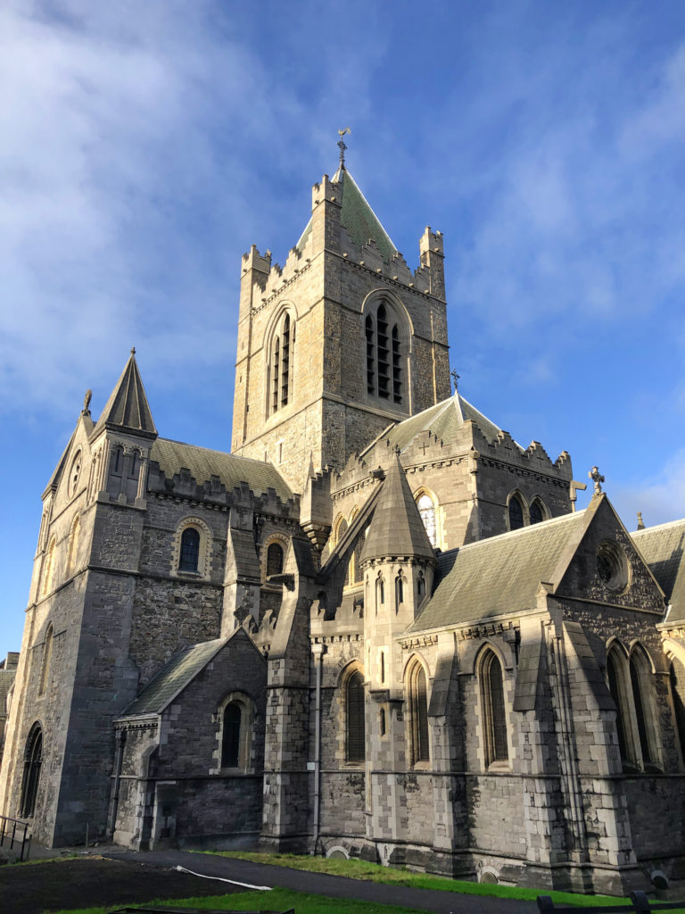 Dublin city Ireland Christ Church Cathedral landmark architecture