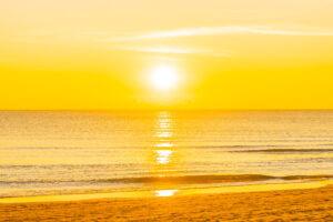 Rhodos zonsondergang